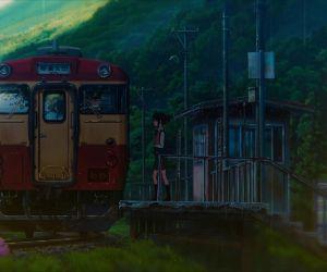 Mobile Train Stop Kimi No Na Wa Live Mobile Wallpaper Mylivewallpapers Com