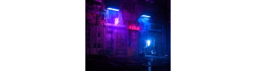 Night Back Alley Live Wallpaper