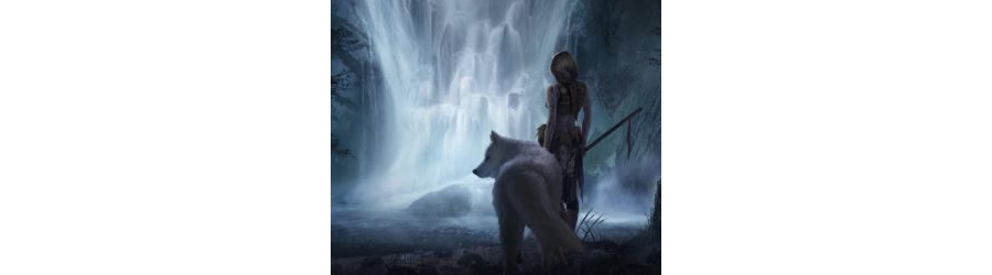 MOBILE-Princess Mononoke Waterfall Live Mobile Wallpaper
