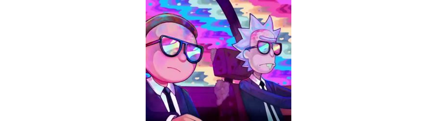 Rick and Morty-Run the Jewels Live Wallpaper
