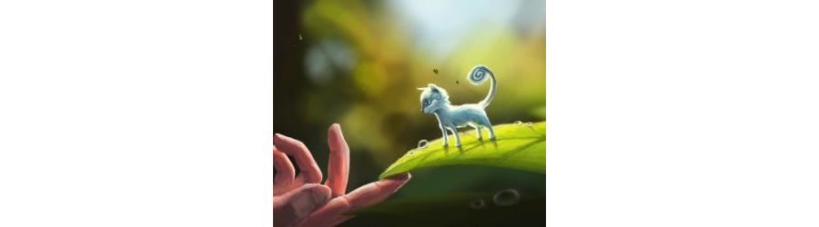 MOBILE-Tiny Cat on Leaf Live Mobile Wallpaper