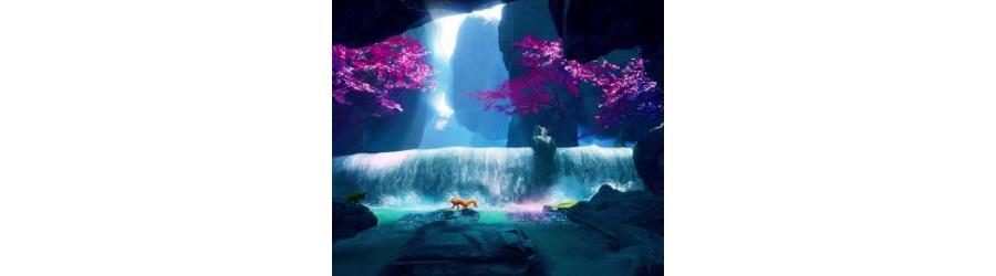 Waterfall Fox Live Wallpaper